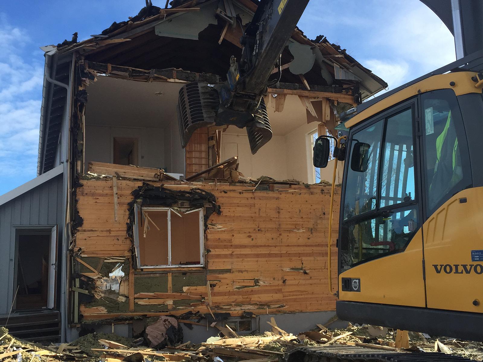Ramlos - Riving av bygninger