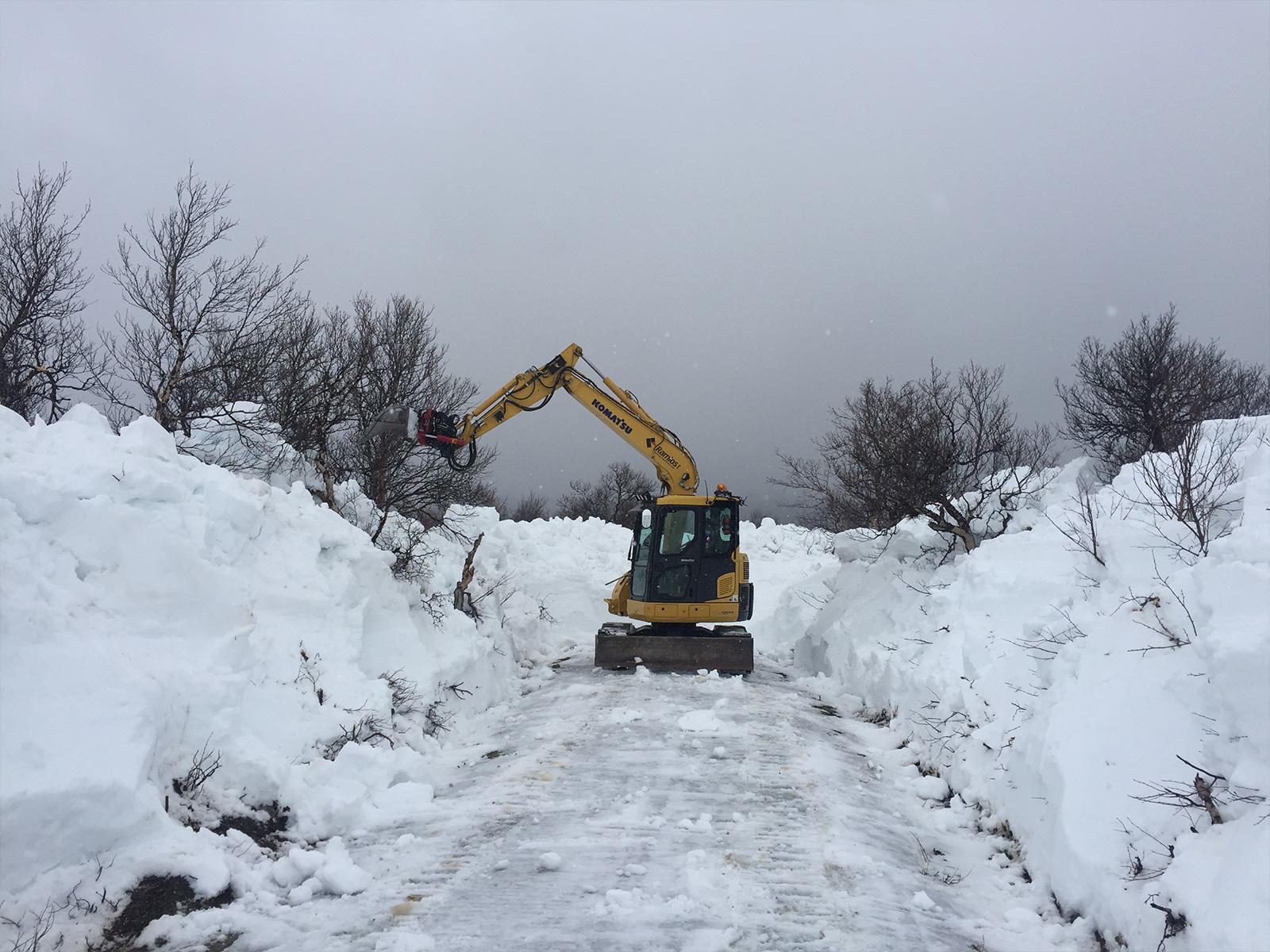 Ramlos - Snøybrøyting